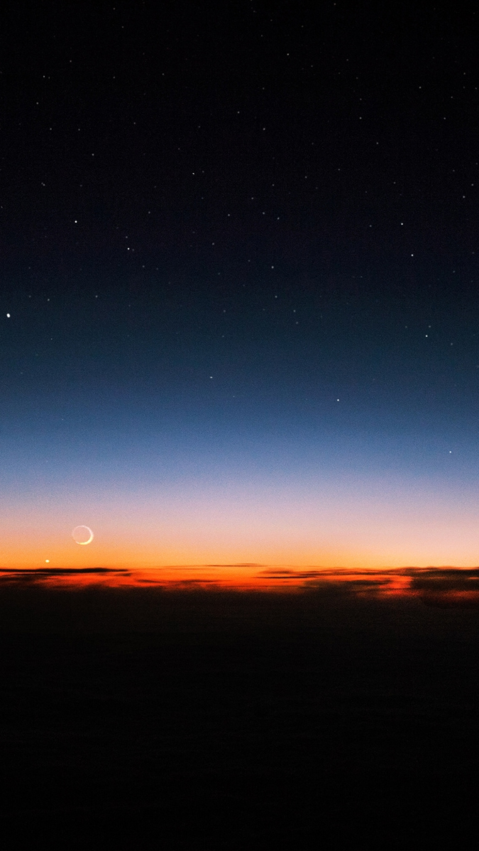 Cute Pics For Phone Wallpaper Night Sky Sunset Stars Iphone Wallpaper Iphone Wallpapers