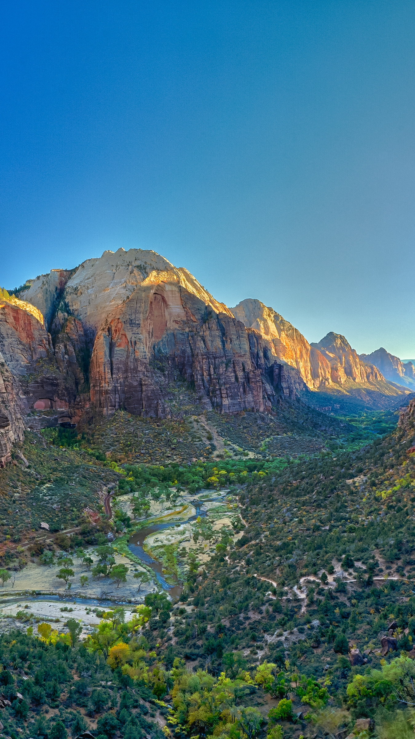 Cute Girly Wallpapers With Quotes Virgin River Valley Zion National Park Canyon Iphone