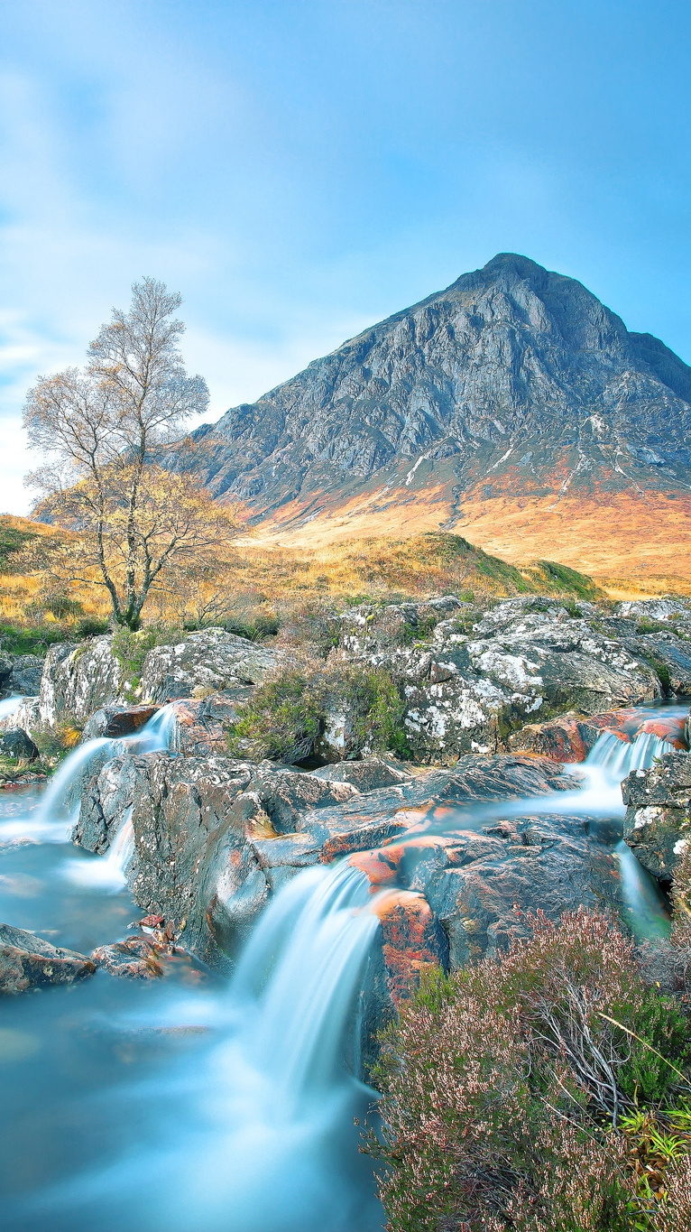Animal Anime Girls Cute Wallpaper Valley Of Glencoe Scotland Iphone Wallpaper Iphone