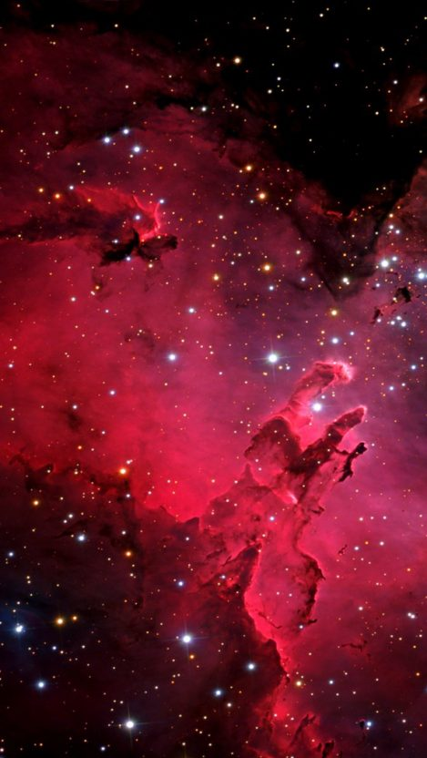 Iphone 7 Wallpaper Size Red Nebula Galaxy Iphone Wallpaper Iphone Wallpapers