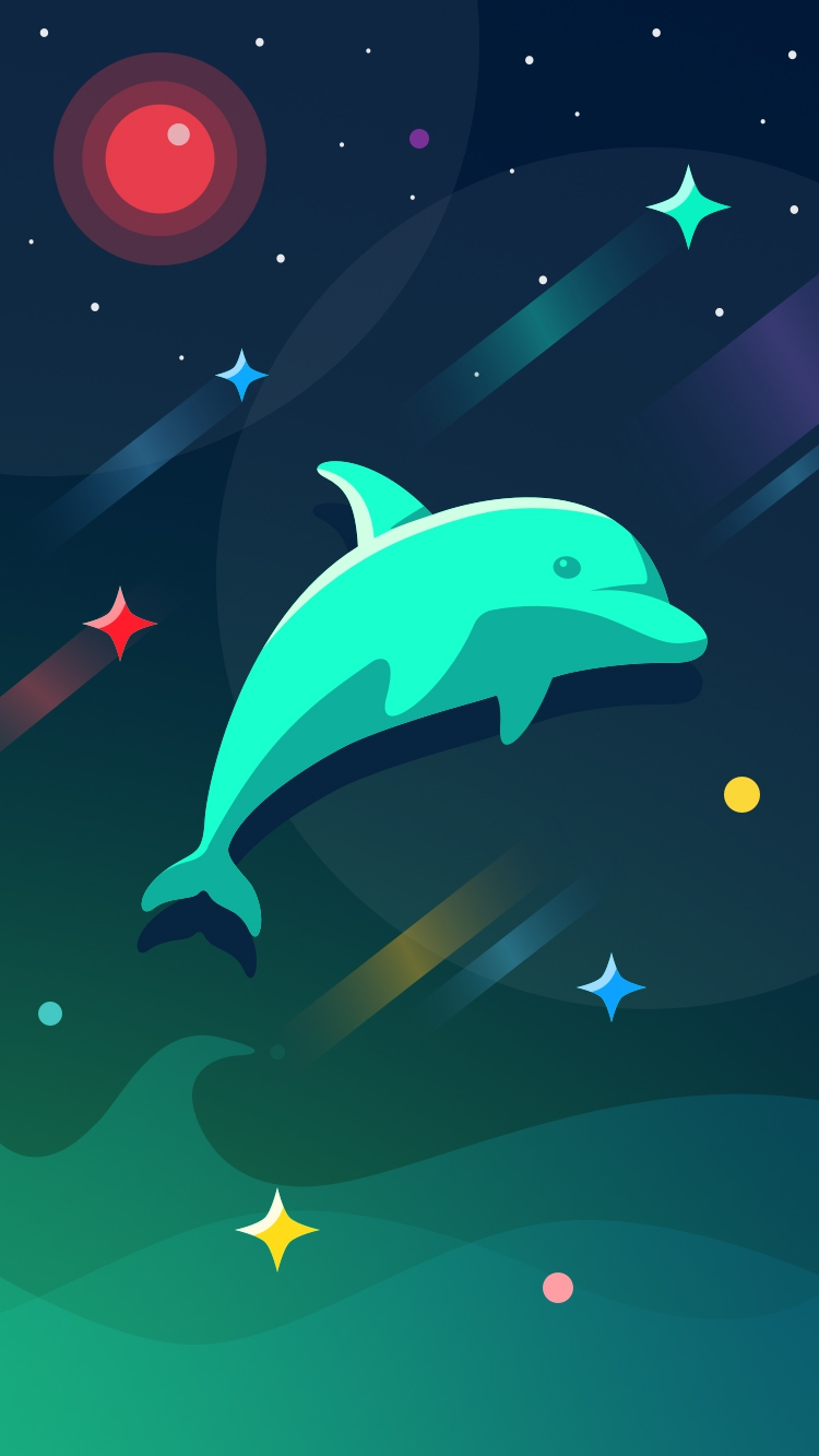 Cute Dolphin Wallpapers Dolphin Iphone Wallpaper Iphone Wallpapers