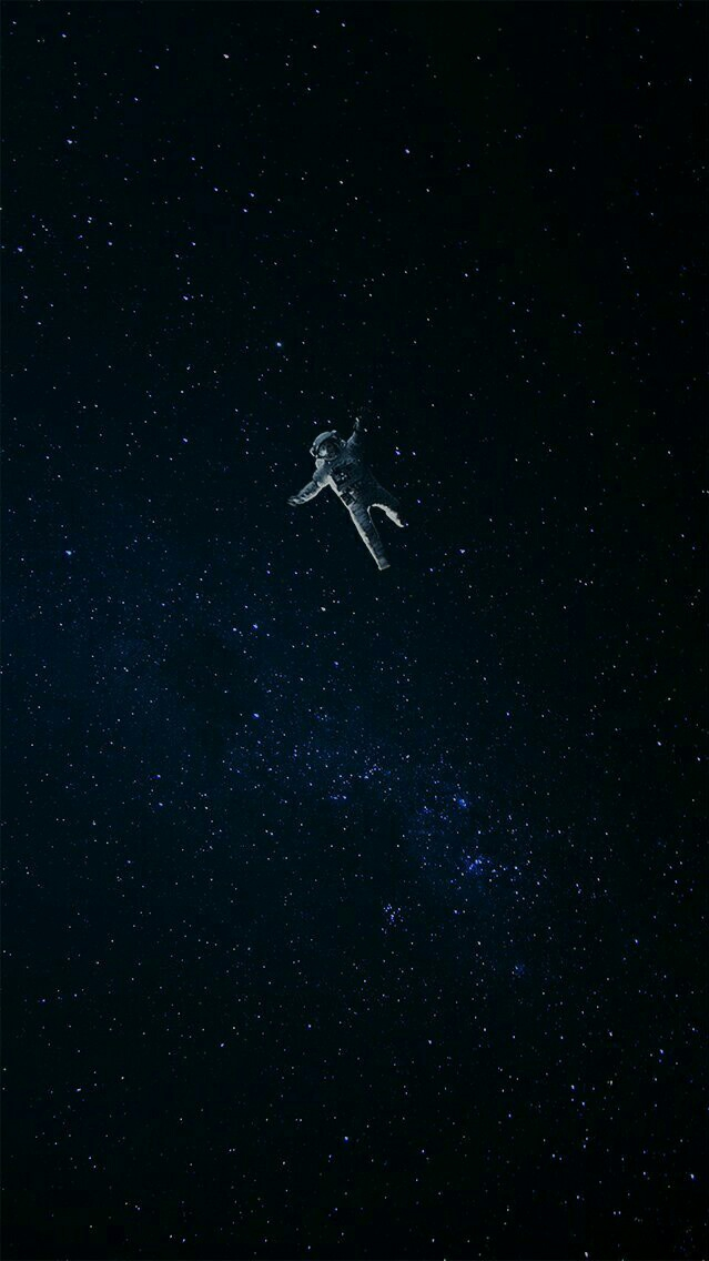 Blue Galaxy Hd Wallpaper Lost Astronaut In Space Iphone Wallpaper Iphone Wallpapers