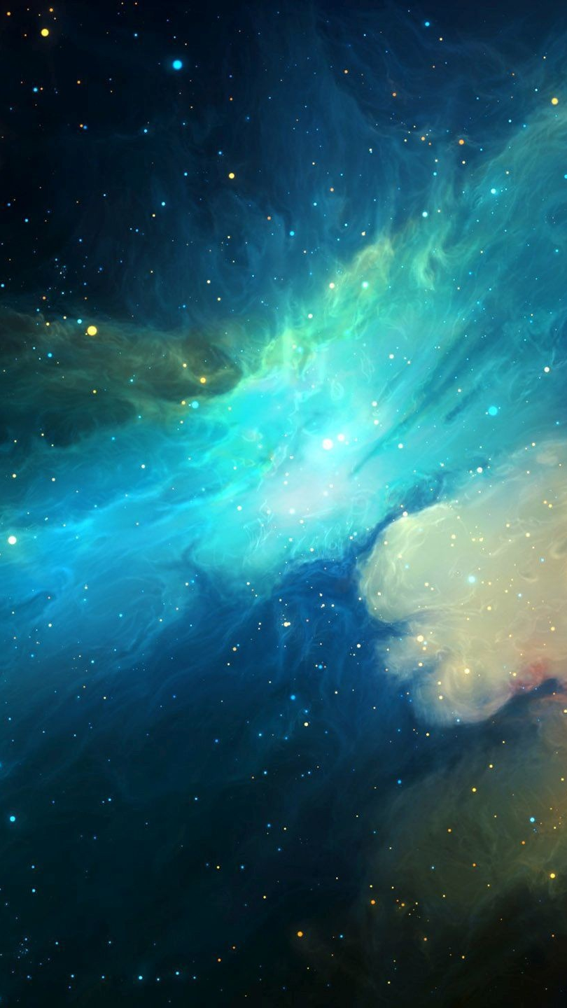 Apple Quotes Wallpaper Universe Nebula Galaxy Artwork Iphone Wallpaper Iphone