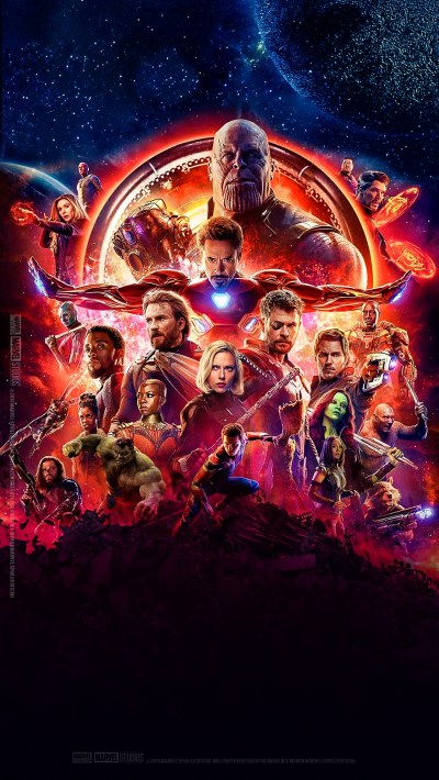 Avengers-Infinity-War-Poster-iPhone-Wallpaper - iPhone Wallpapers