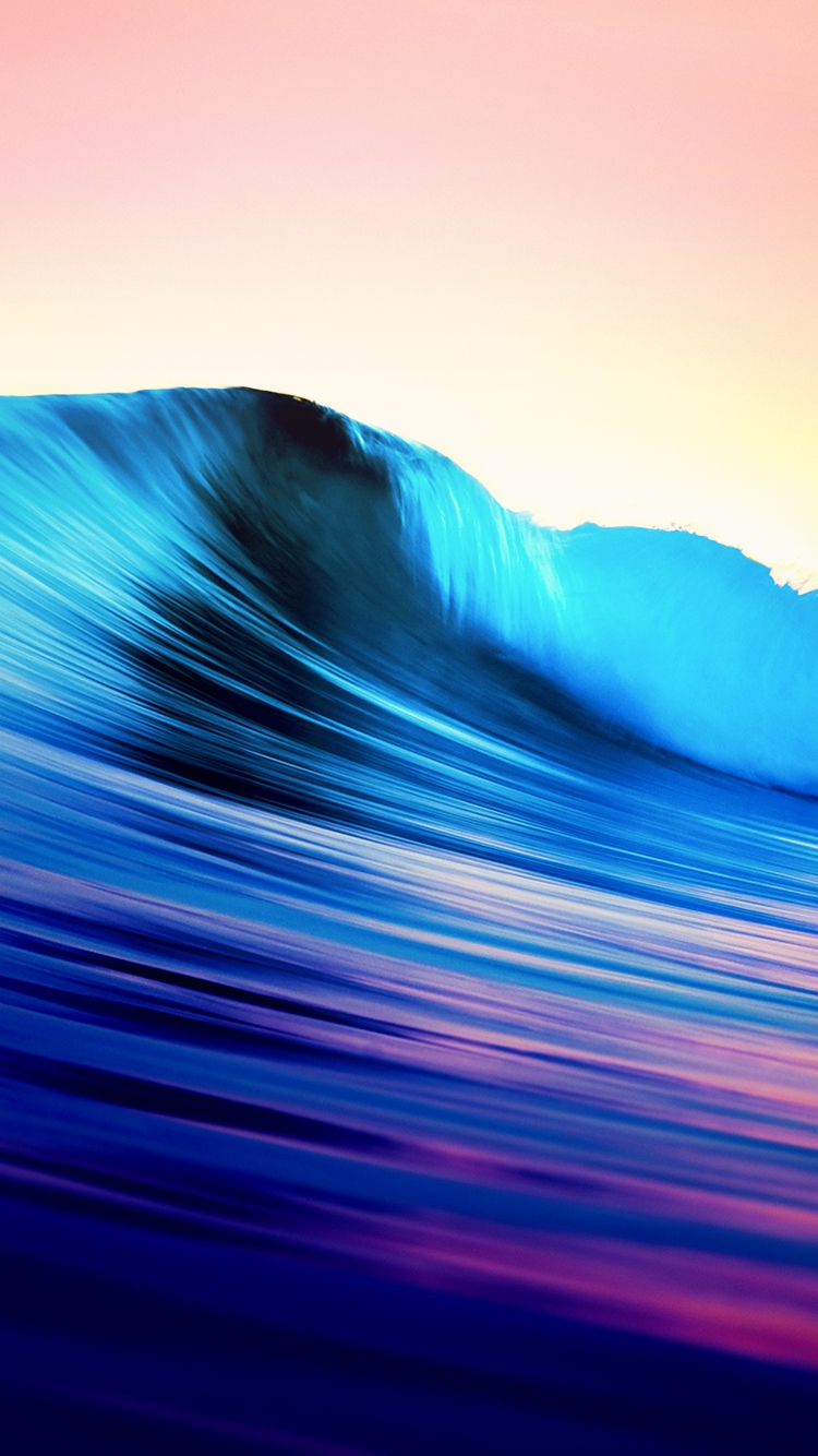 Cool Iphone 4 Wallpapers Hd Colorful Ocean Wave Iphone Wallpaper Iphone Wallpapers