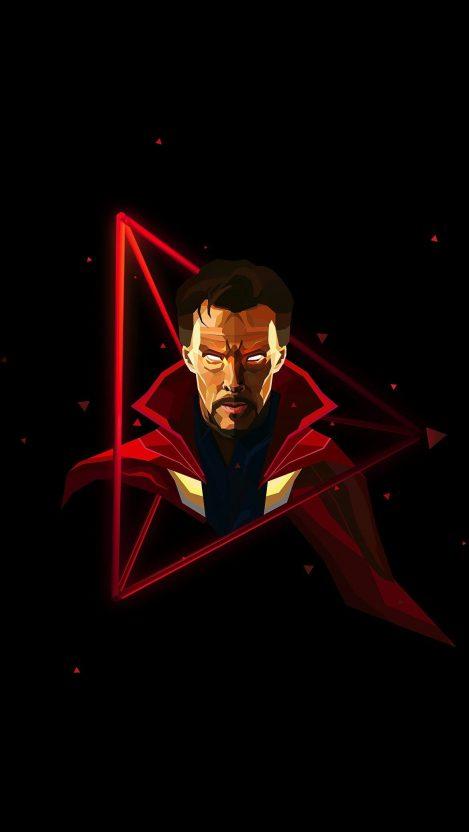 Quotes Iphone Wallpaper Hd Doctor Strange Neon Avengers Infinity War Iphone Wallpaper