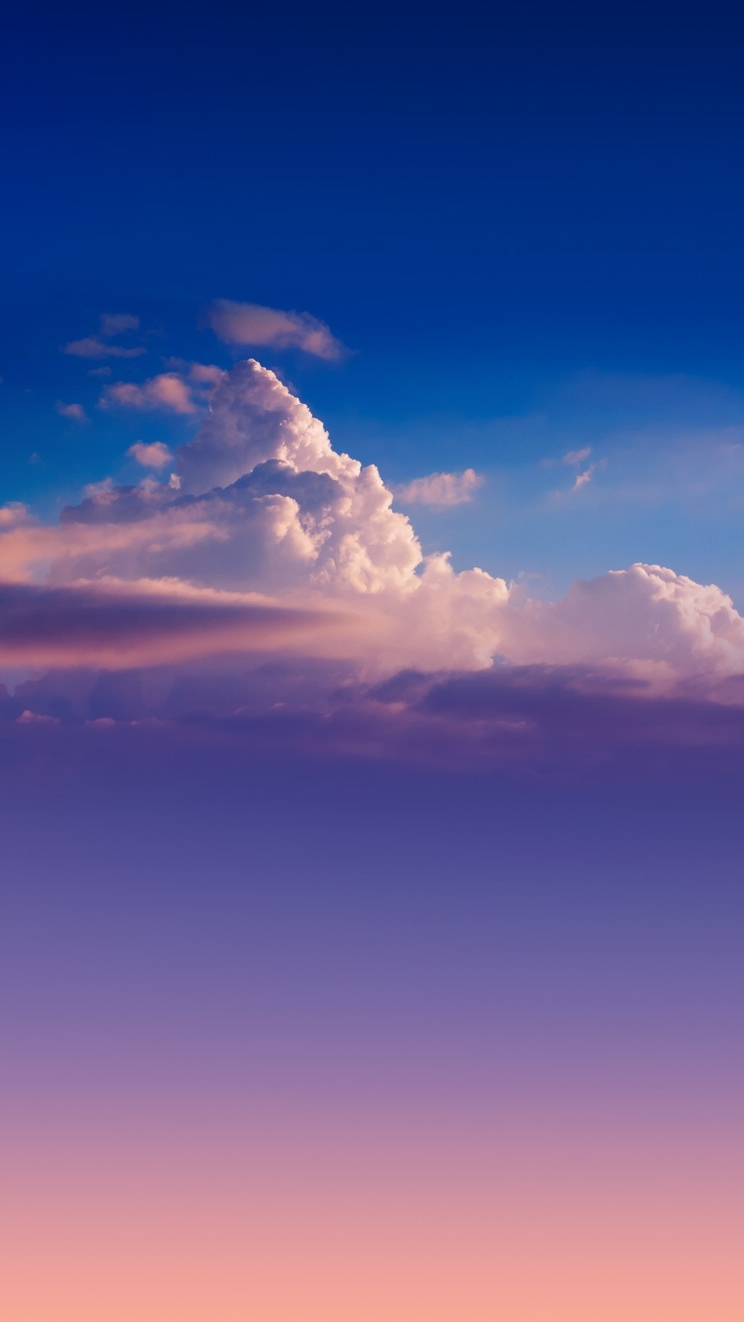 Cute Wallpapers For Phones Animated Pure Clouds Iphone Wallpaper Iphone Wallpapers