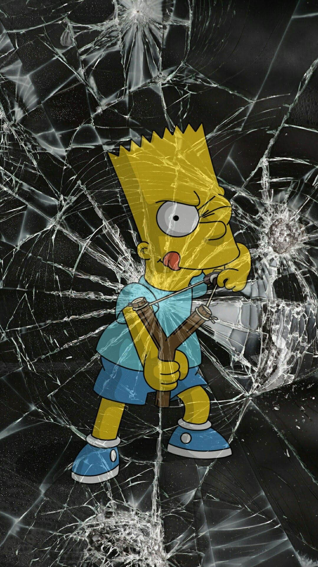 Cute Wallpaper Quotes Download Bart Simpson Iphone Wallpaper Iphoneswallpapers Com