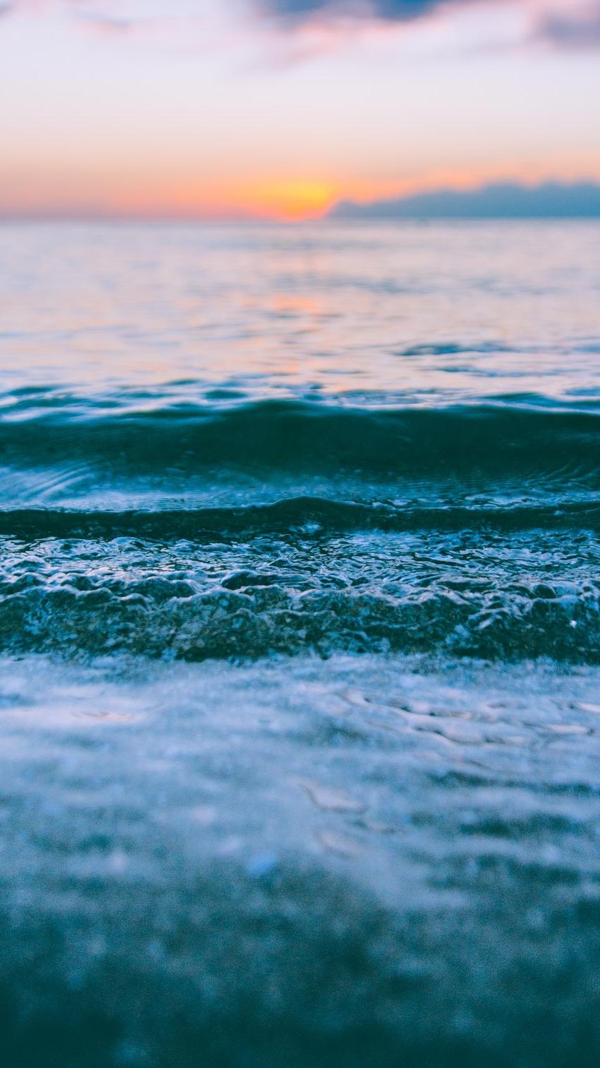 Marvel Iphone Wallpaper Beach Ocean Blue Water Waves Iphone Wallpaper Iphone