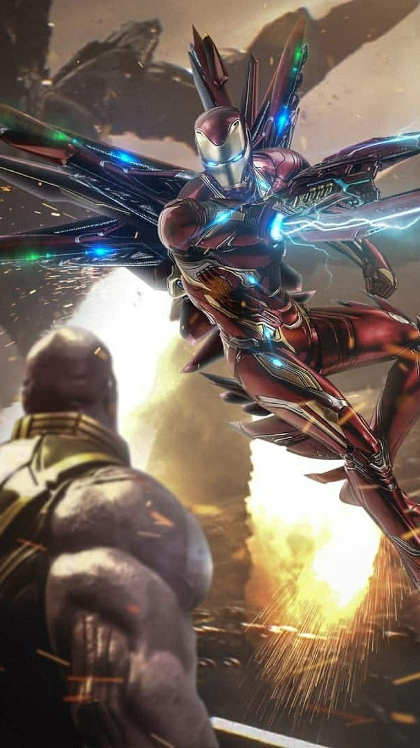 The Avegners Wallpaper Quotes Thanos Vs Iron Man Titan Planet Iphone Wallpaper Iphone