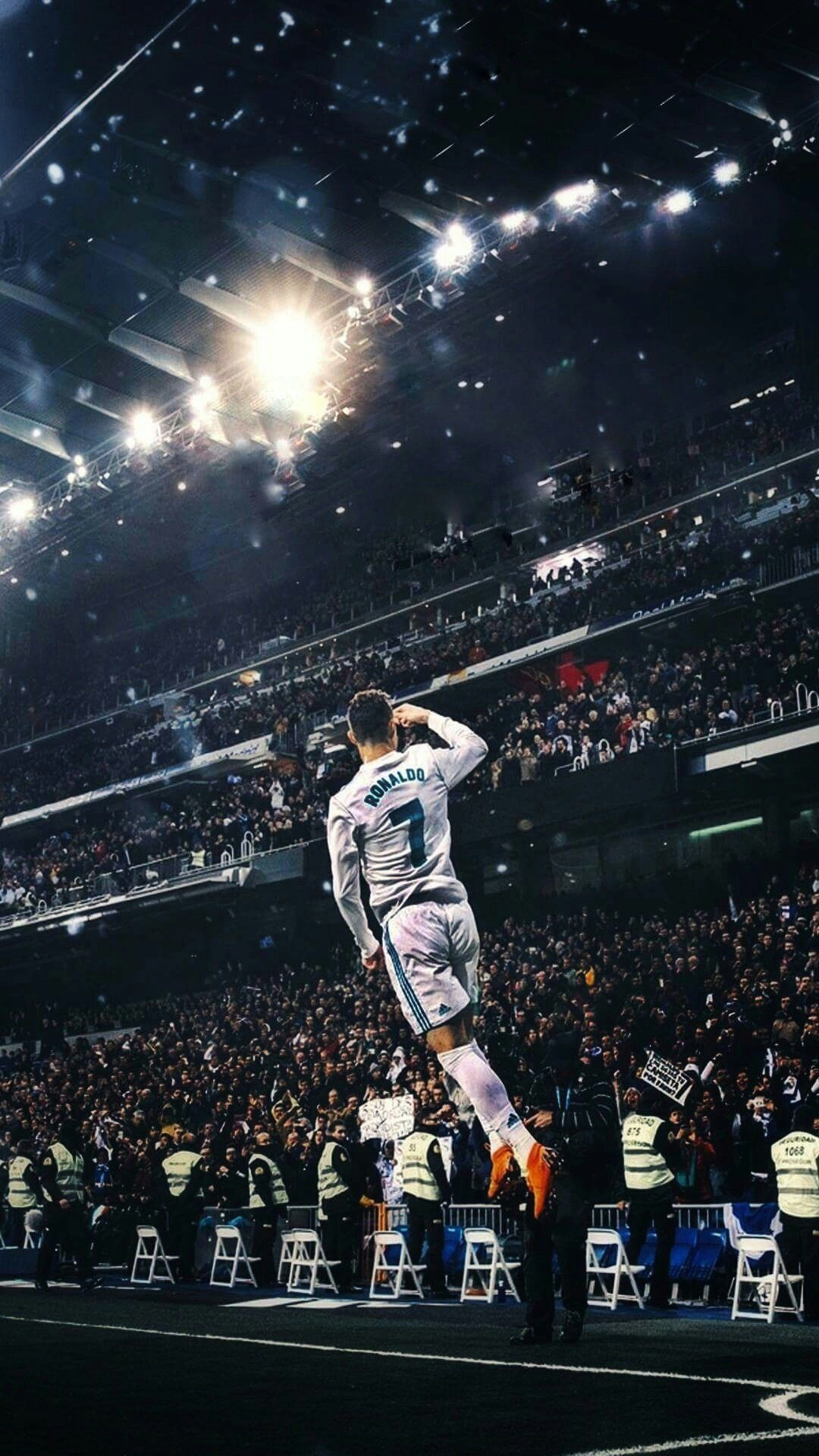Wallpapers Hd Real Madrid Cristiano Ronaldo Football Goal Celebration Iphone