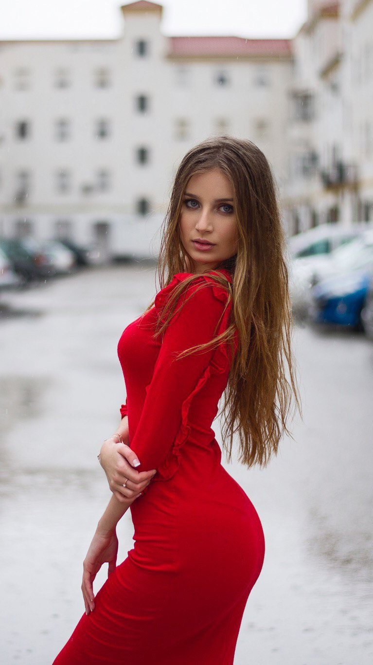 Beautiful Girl Eyes Wallpaper Red Dress Beautiful Lady Portrait Iphone Wallpaper