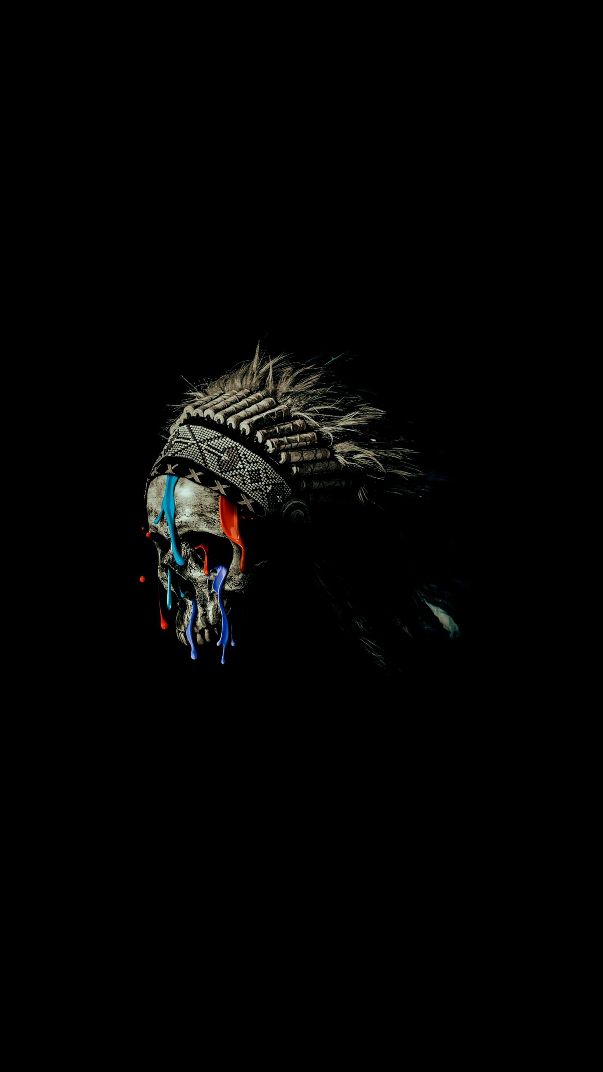 Focus Wallpaper Iphone X Native American Skull Iphone Wallpaper Iphone Wallpapers