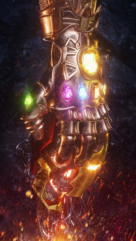 Iphone 6 Quote Wallpapers The Infinity Gauntlet Thanos Infinity War Iron Man Death