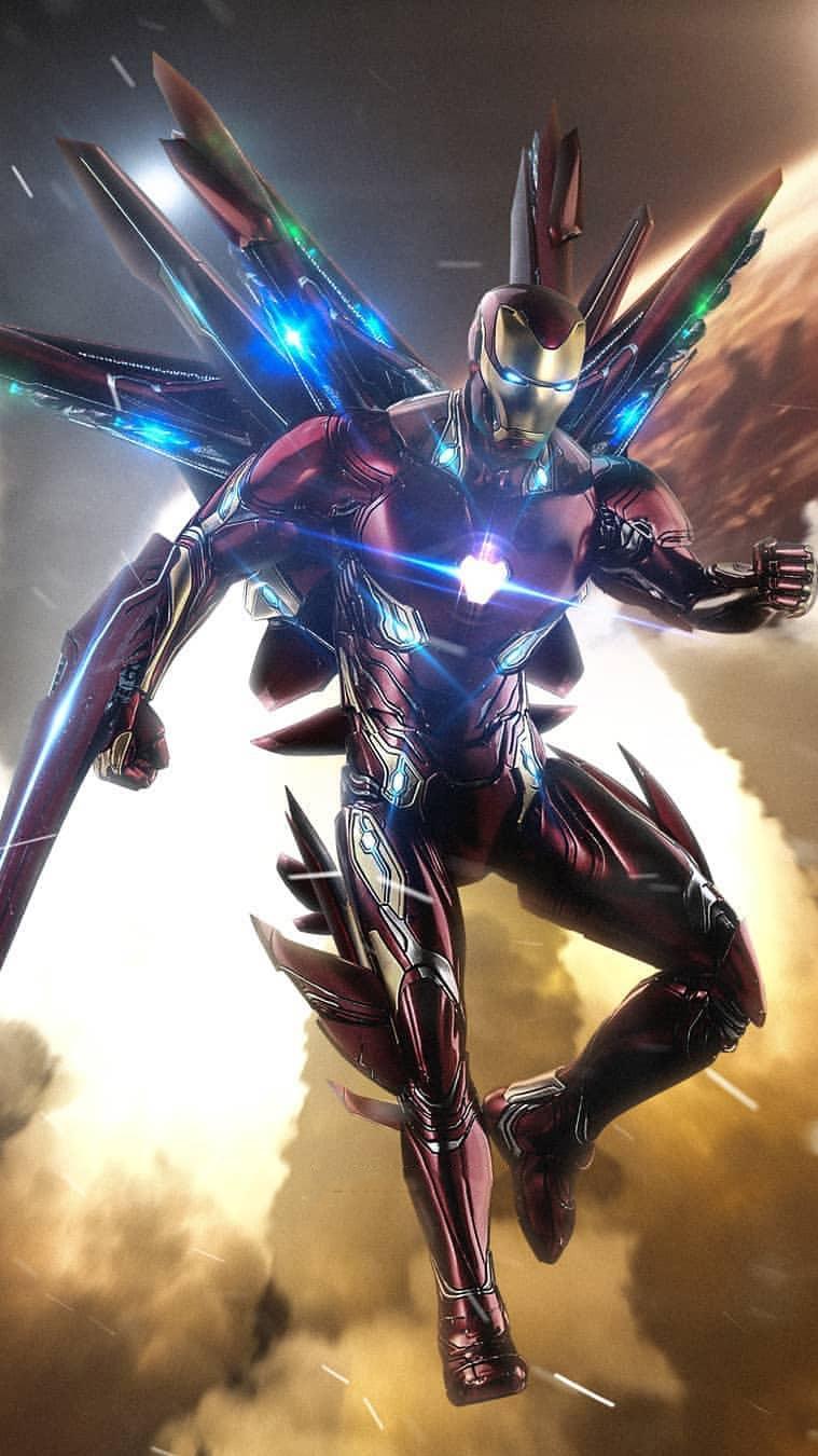 Marvel Iphone 7 Wallpaper Avengers Endgame Iron Man Suit Iphone Wallpaper Iphone