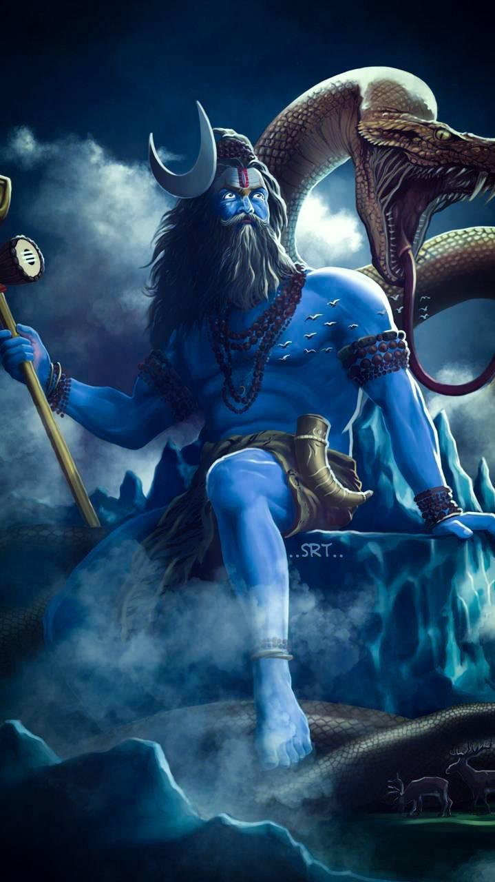 Mahadev God 3d Wallpaper Lord Shiva Wallpaper Iphone Wallpapers