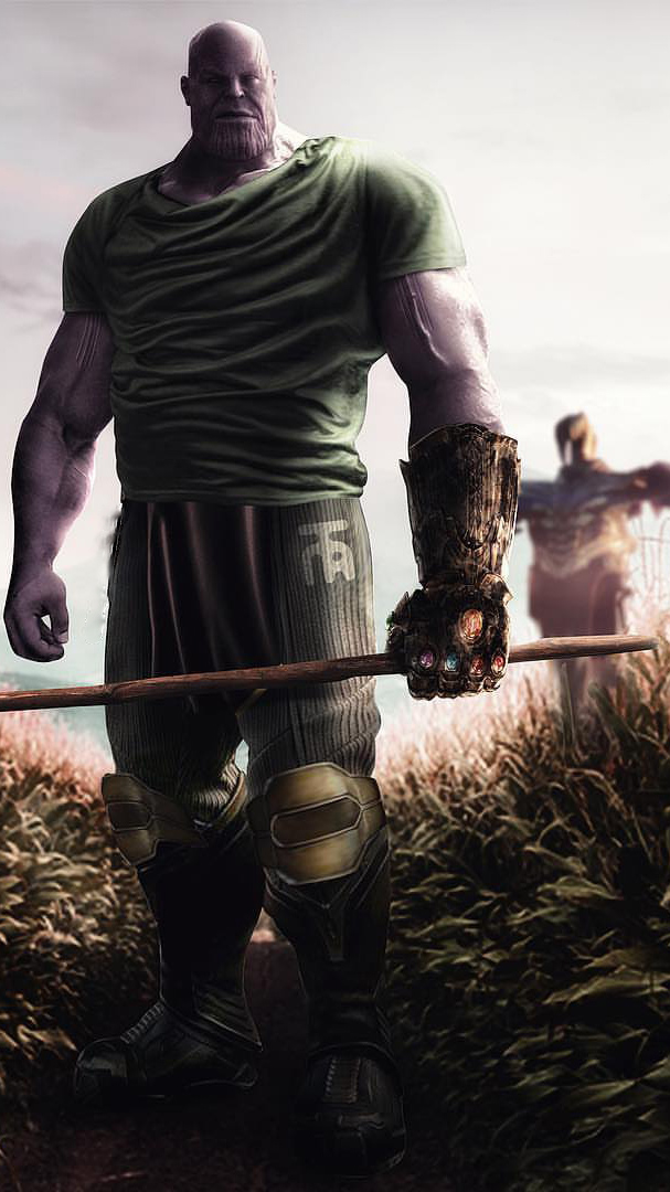 Images Of Cute Wallpapers For Phone Thanos Scarecrow Farmer Iphone Wallpaper Iphone Wallpapers