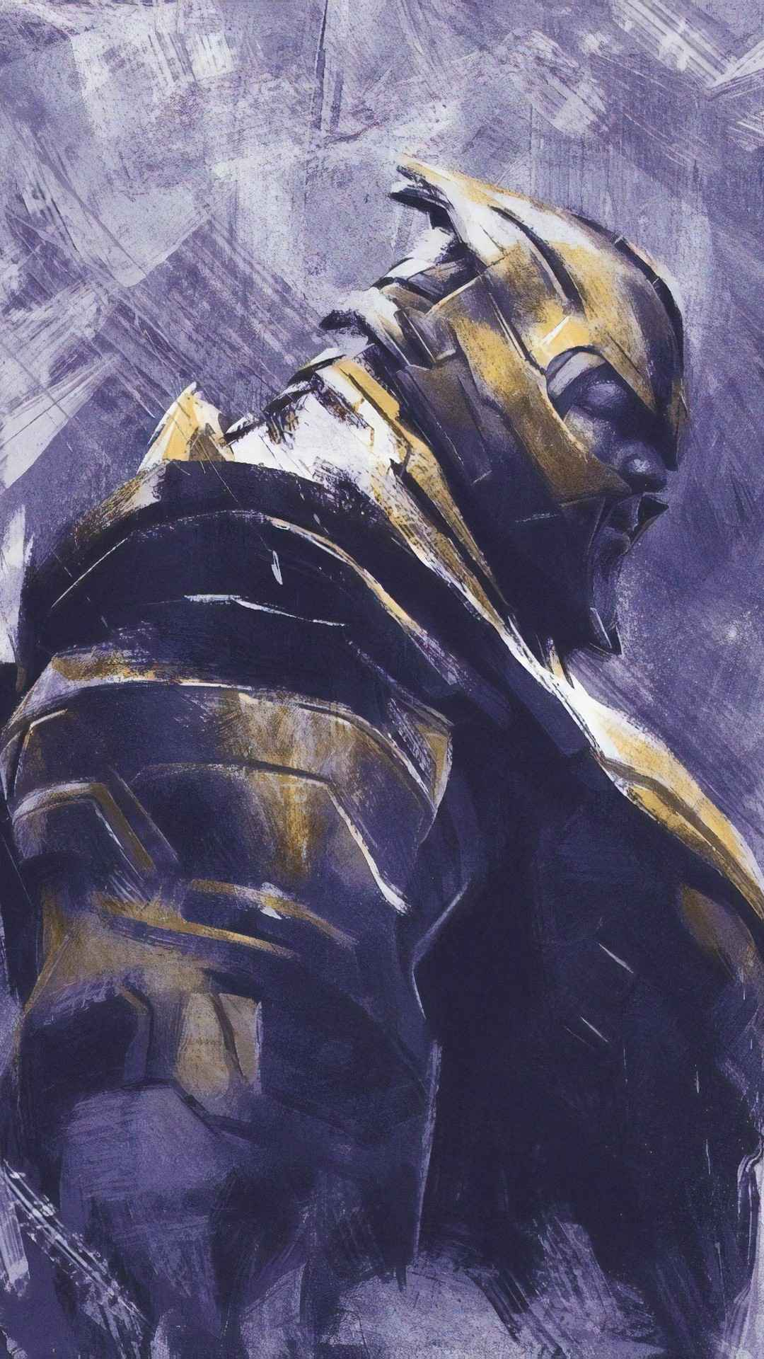 The Avegners Wallpaper Quotes Avengers Endgame Thanos Art Iphone Wallpaper Iphone