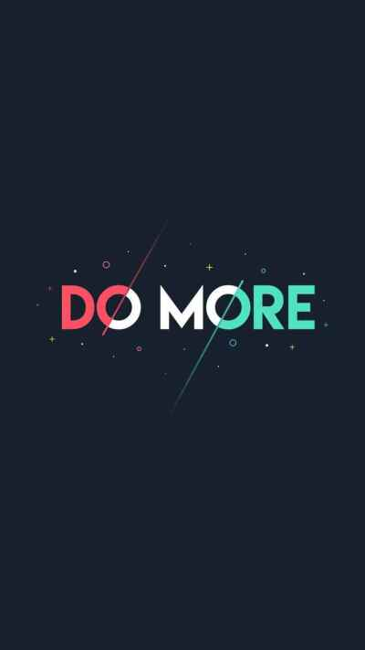 Do More iPhone Wallpaper - iPhone Wallpapers