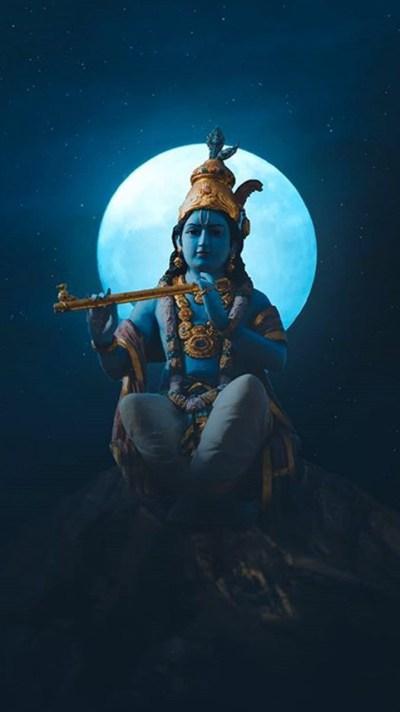 Lord Krishna iPhone Wallpaper - iPhone Wallpapers