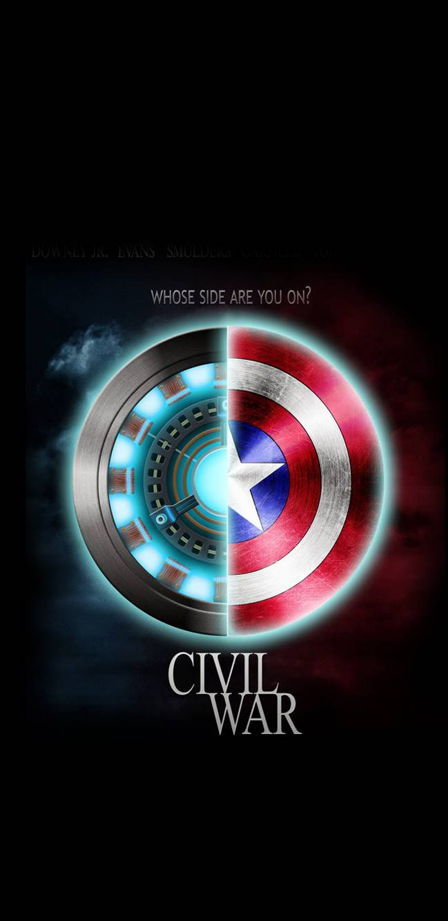 Quotes For Iphone Wallpaper Cute Civil War Iron Man Vs Captain Iphone Wallpaper Iphone