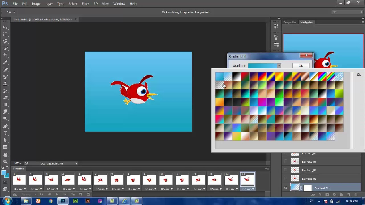 Photoshop 5 How To Create A Frame Animation In Photoshop Cc Timeline