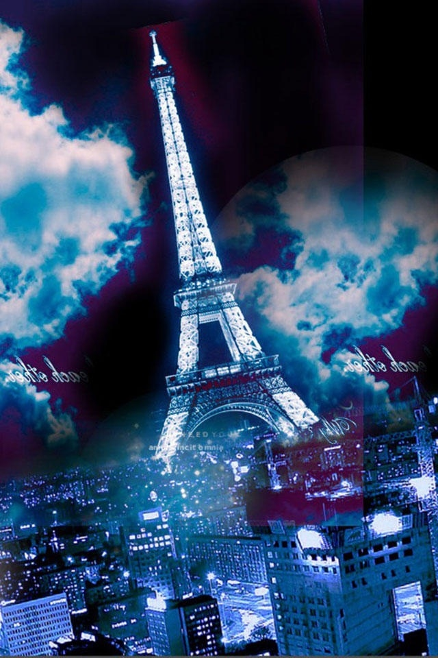 Cute Eiffel Tower Wallpaper For Iphone Eiffel Tower City Architecture Iphone 4 Wallpapers Free