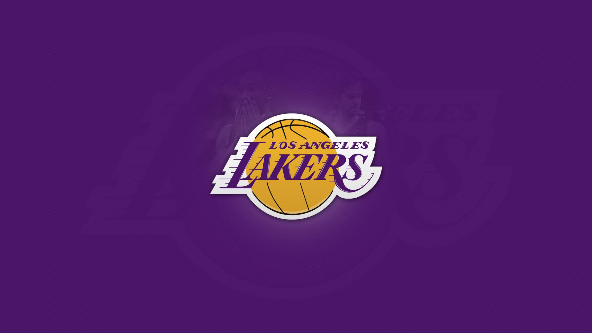 Lakers 3d Logo Wallpaper Los Angeles Lakers Logo Purple Background Hd Wallpaper