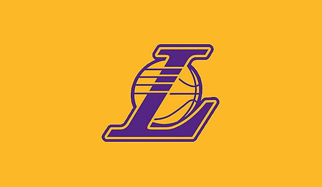 Lakers 3d Logo Wallpaper Nba Los Angeles Lakers Team Logo Yellow Wallpapers Hd For