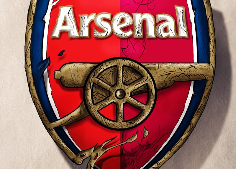 Wallpaper Arsenal Hd Arsenal Logo By Shyne1 On Deviantart