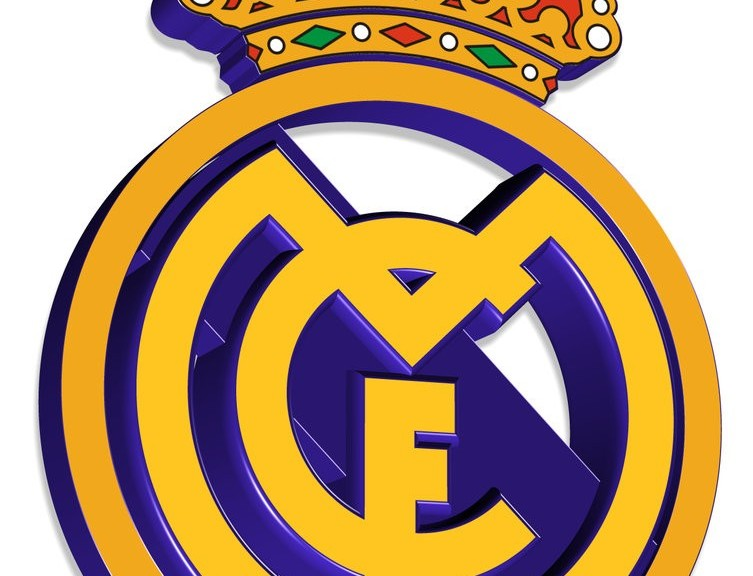 Np Name 3d Wallpaper Real Madrid 3d Logo