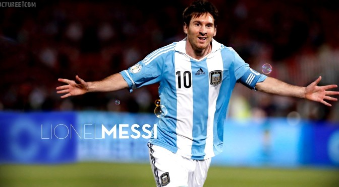 Messi Full Hd Wallpaper Lionel Messi Argentina Captain World Cup 2014