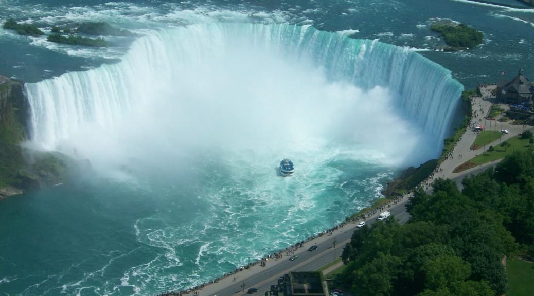 Jennifer Aniston Cute Wallpapers Niagara Falls Aerial View Wallpaper