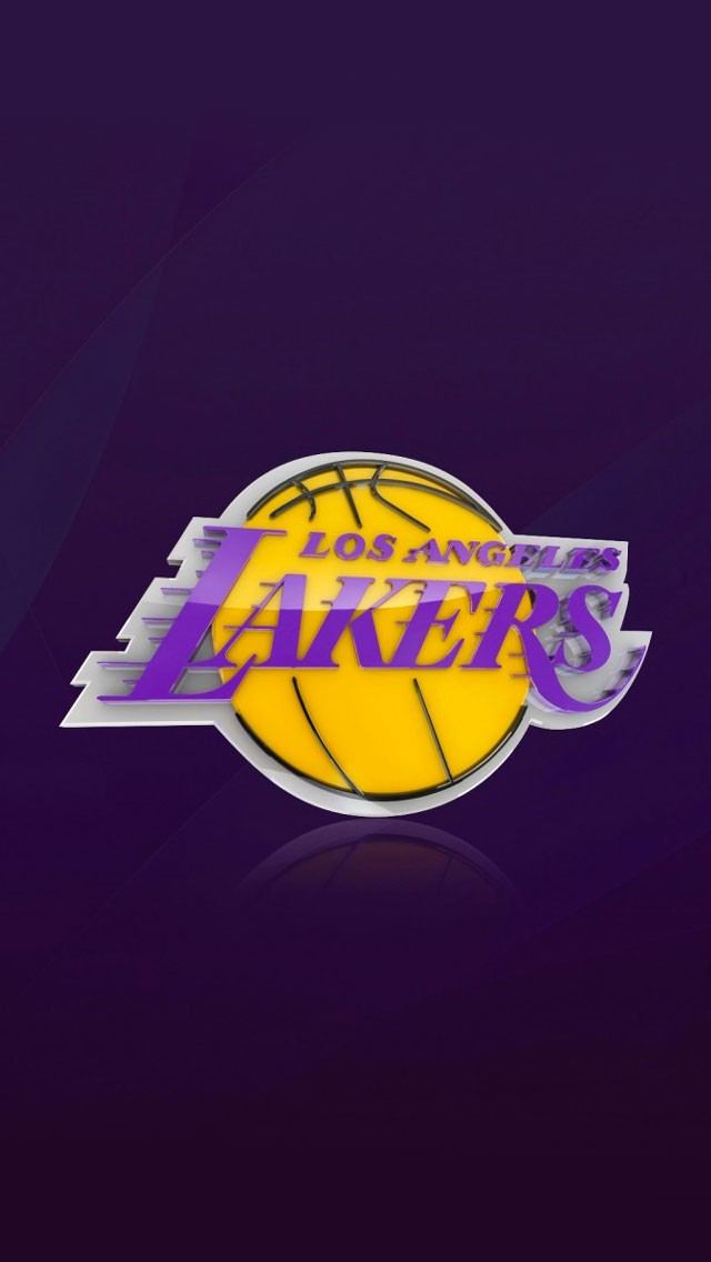 La Dodgers Iphone Wallpaper Nba Los Angeles Lakers Team Logo Yellow Wallpapers Hd For