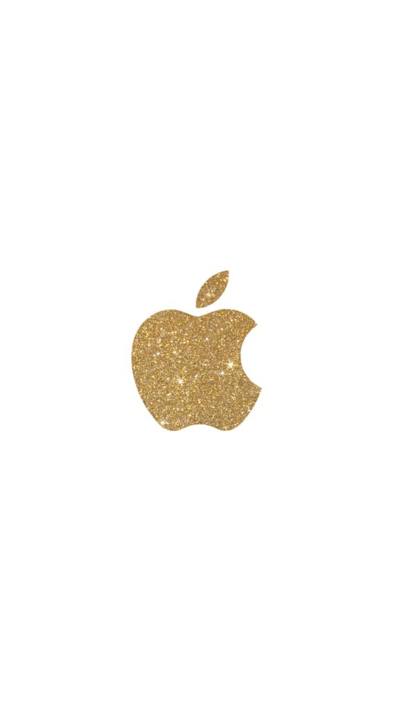 Bible Verse Iphone Wallpaper Gold Glitter Apple Logo Iphone 6 Wallpaper