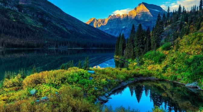 Jennifer Aniston Cute Wallpapers Lake Mountain Scenery Hd Wallpaper