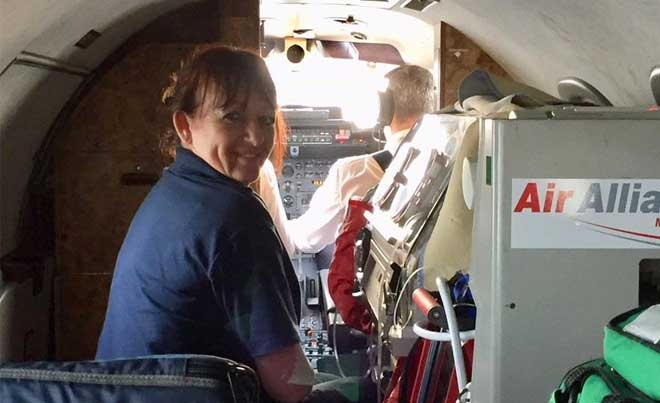 Neonatal Transport Out Of The UK Air Alliance And Embrace Enter