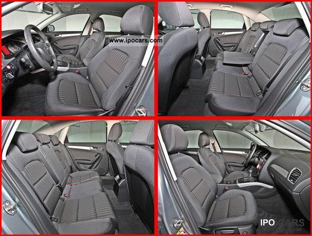 2010 Audi A4 18 TFSI radio concert ambience ISOFIX uvm - Car
