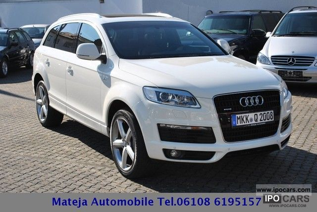 2008 Audi Q7 30 TDI sport package plus / Panorama/20  - Car Photo