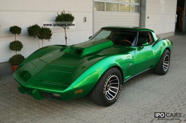 1979 Corvette C3 Stingray Big Block Auto Targa - H-approval - Car