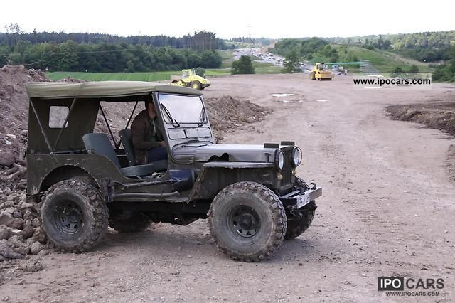 1945 Jeep Willys M38 - Car Photo and Specs