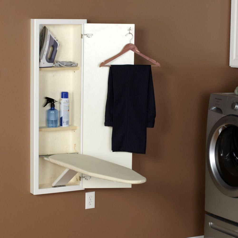 Ironing Board Cabinet Ikea In-wall Ironing Board - Ippinka