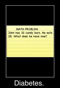 John has diabetes math problem