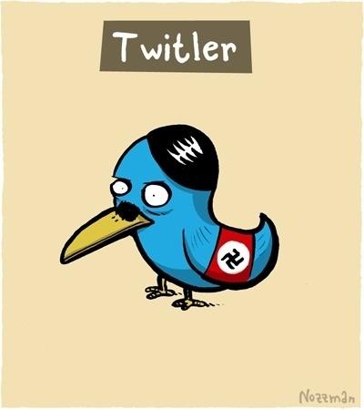 Twitler cartoon
