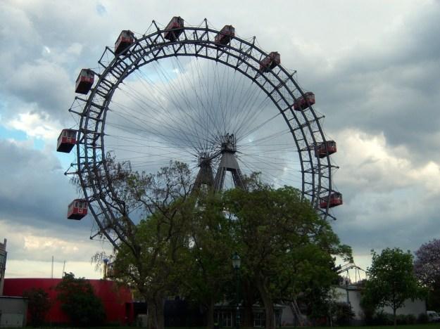 riesenrad, prater park, vienna, austria