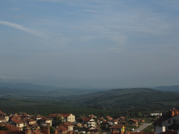 morning balcony view, belogradchik, bulgaria