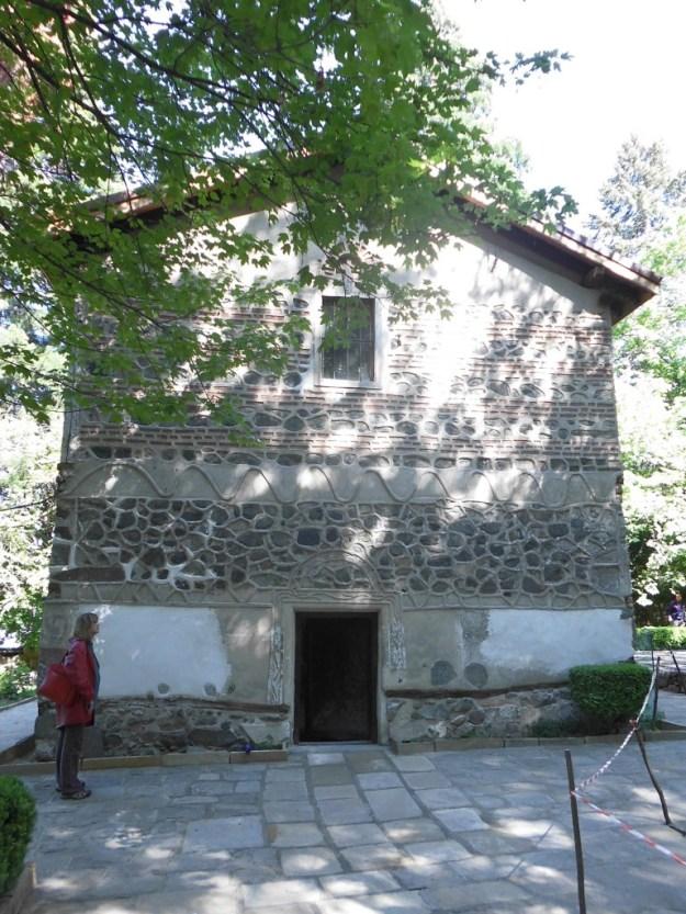 Boyano Church bulgaria entrance