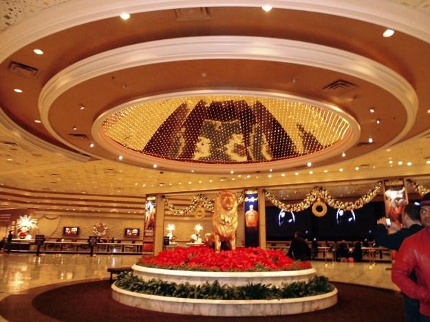 MGM Grand reception