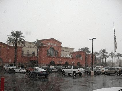 Terribles Las Vegas snow