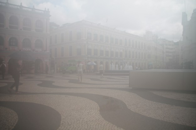 Senado Square lost in condensation